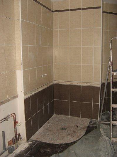 Carrelage et fa ence salle de bain construction 22 et for Faience et carrelage