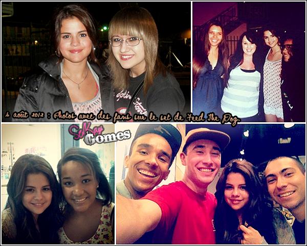 Selena Gomez sur le tournage de son nouveaux film