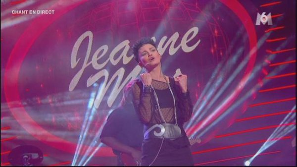  JEANNE MAS imite hier soir dans  - &quot;UN AIR DE STAR&quot; sur M6